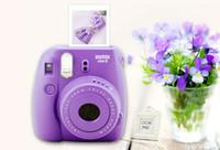Wholesale 2016 Classical Vintage FUJIFILM Fuji Polaroid Instant Mini8 Lomo Film Camera Colors Available