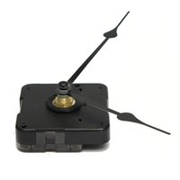 Wholesale BRAND NEW HIGH TORQUE CLOCK MOVEMENT MECHANISM KITS LONG SPINDLE BLACK FRENCH SPADE HANDS order lt no tracking