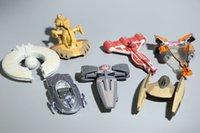 Star Wars Troopers 3inch Ships Alloy Toy Figurines d'action Livraison gratuite Nouveau 2016 Star Wars Warships Spaceship 7pcs / lot