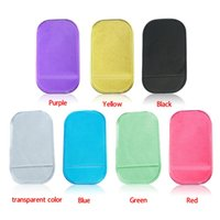 Wholesale New Portable practical Silicone Skin Mat Car Mat sticky pad Antiskid Mat Non slip Mat Holder
