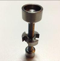 Wholesale 14 mm mm Grade Titanium Bong Nail Vapor Dome Glass Quartz Nail for Smoking GR2 Titanium Nail mm and mm