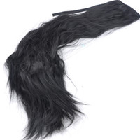 Wholesale Fashion Women s cm inch Long Curling Hair Piece Synthetic Ponytail Hair Extensions New Hairpiece FY MJF0030A1