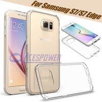tpu gel case - Soft Clear Cover mm Super Thin TPU Silicon Gel Phone Cases For Samsung Galaxy S7 G9300 S7 Edge G9350 With OPP Bag