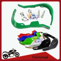 atv track kit - Mew Green quot Dirt Bike Dirtbike ATV Motorcycle Brush Bar Hand Guards Offroad Handguard Kits Pair Universal order lt no track