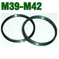 Wholesale 42mm mm M42 to M39 Lens mount adapter for Leica Zenit