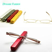 aspherical mirror - Big Sales New Arrival Clear Lens Red Metal Women Men Reading Glasses Comfy Aspherical Glasses Magnifier Mirror