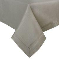 Wholesale quot quot Poly Cotton Solid Color Canvas Fabric Grey Table Cloth Hotel Line P4516