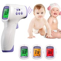Wholesale DM300 Baby Adult Digital Multi Function Non contact Infrared Forehead Body Baby Digital Thermometer Gun for Kids Adult Family