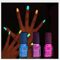 Wholesale 24pcs Hot Sale Colors Fluorescent Luminous Neon Glow In the Dark Varnish Paint Nail Art Polish nail Lacquer