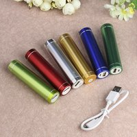 apple emergency - Metal Cylinder power charger mah emergency portable chareger for iphone plus samsung With retail package sets