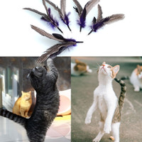 Wholesale New Quality REFILLS for Da Bird feather Wand Cat Toy Interactive Toys Refill Home Drop Shipping