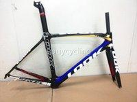 Wholesale Hot road bike carbon complete Look triathlon bike carbon frame BB30 PF30 carbon mtb bicycle frames Asymmetrical fixed gear bike frames
