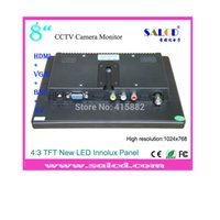 Wholesale quot cctv monitor lcd with HDMI AV VGA BNC in high resolution of x768 Fedex DHL