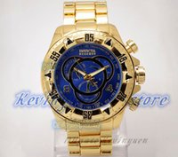 Wholesale Hot Sale Wristwatch Specialty Chronograph Relojes Top Brand Luxury Quartz watches Invicta watch Brazil Famous Watches Relogio Invicta