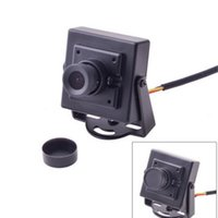 Wholesale FPV Mini CAM Digital Security Camera HD TVL for Aerial Photography FPV Camcorder Black Wide Angle