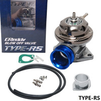Wholesale Universal Adjustable Billet Aluminum GREDDY TYPE RS psi Turbo Blow off valve TYPE RS original color box HQ