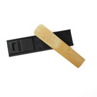 Wholesale Tenor Sax Saxophone Mouthpiece with Cap Metal Buckle Reed Cork Grease Reed Case Cleaning Brush