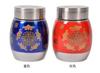Wholesale Supply of premium stainless steel vacuum canisters for Tie Guanyin tea Pu er tea pot