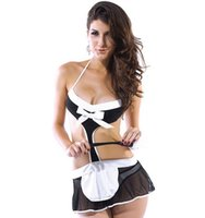 maid costume - Sexy Fantasy Maid To Clean Costume French maid costume good service fast delivery B6085AF