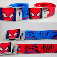 kids belts - Hot Kids Boys Girls Canvas Belt Fashion Children Buckles Baby Candy Color Waist Belt