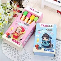 Wholesale 2015 New Daily School Using Pencil Erasers Lovely Correction Supplies for Students