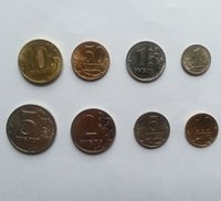 Wholesale 8 Russia Coins Collection Set Original Genuine