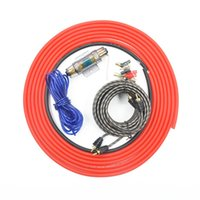aluminium copper wire - Car Styling RH GWK Amplifier Wire Kit Fits For Gauge Wires With A AGU Fuse Pre Installed Copper Clad Aluminium