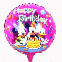 animation cartoon picture - inch Mickey Mouse or Minnie Party Foil Balloons for Party Supplies or birthday Cartoon Animation picture