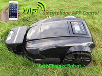Wholesale 2015 th Generation Robot Lawn Mower S520 With Newest Improvment WIFI APP Smartphone Wireles Control Water Proofed Charger