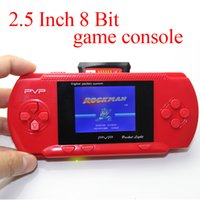 portable digital tv - Children Gift PVP bit inch LCD Digital Pocket Handheld Portable Video Game Player Console System Game Players