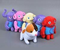 alien baby doll - 6pcs cm Dreamworks HOME Movie Stuffed Dolls Baby Toy Anime Cartoon OH Boov Alien Kyle Pig Cat Plush Toys Christmas Birthday Gifts