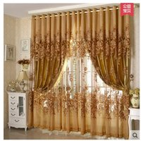 beaded window treatments - New Arrival Curtains Luxury Beaded For Living Room Tulle Blackout Curtain Window Treatment drape