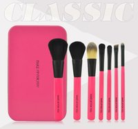 Wholesale NEW Makeup Brushes Professional Nude pieces Makeup Brush sets Makeup Brushes with Iron Box DHL Free sets