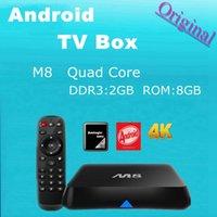 Cheap Quad Core M8 tv box Best Included 1080P (Full-HD) quad core tv box