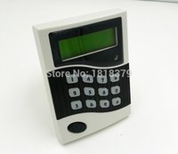 Wholesale RFID EM ID card Time Attendance Access Control Keypad Networking LCD Entry Door Alarm Access Control System Card Holder