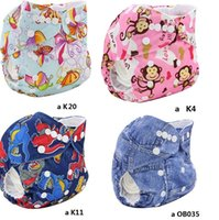 baby cloth brands - 2016 Newborn Baby Cloth Diaper Cotton Wasbare Luier Brand Fraldas Cloth Diaper Cover Pannolini Lavabili Pocket For Little Babies