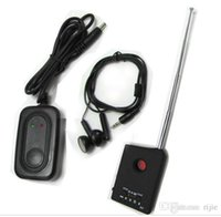 Wholesale New Anti Spy Camera GSM Bug RF Tracker Finder Detector hidden camera detector GPS tracker