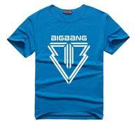 big bang korean - Korean star big bang Kpop t shirt fashion alive mini5 printed tshirt cotton T154