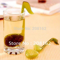 Cheap Music symbol spoon with Tea Strainer Stirrer Clip-on Tea Strainer Tadpole ( mix order 10 usd )