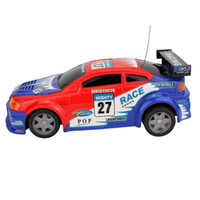 Wholesale Hot sale Remote Control Car Eletric Light Flash Car Bling Tire Automobile Race Car Toys Children Kids Gift