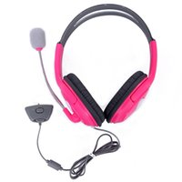 live chat - Gaming Chat Headphone Headset with Microphone Mic for Microsoft Xbox Live Pink
