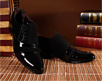 comfortable formal shoes - Fashion Mens Oxfords Shoes High Quality Men Slip on Dress Wedding shoes Comfortable Formal Oxford Business Shoes