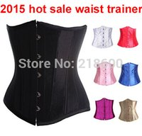 Cheap Magic slimming abdomen Women Corset Steel Boned Waist Trainer Rubber Latex Corset Underwear Bustiers Slimming Body Shaper XS-6XL