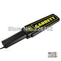 Wholesale Handheld Metal Detector Porable Sensitive Professional alarm Metal Detector for Airport Security Checking