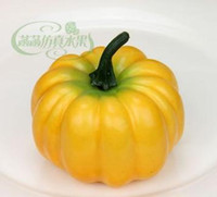 foam pumpkins - 8 CM Small size simulation foam pumpkin fake vegetables home decoration teaching props