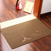 absorbent door mats - 10pcs carpets rugs zakka IKEA simple embroidered cloth kitchen door absorbent mats doormat non slip foot pad hotel ditan