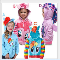 Cheap my little pony hoodies coat jacket Best Minecraft hooded clothes