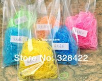 Cheap Free Shipping!! luminous !Glow in the dark ( 600pcs rubber bands+24 S-clip +1 hook) refill loom bands for kids gifts T127