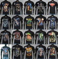 t-shirt wholesale - new D T Shirt Fashion sport T shirt Bone Skull T Shirts Cotton Print T shirt size S XXL D Mens summer T shirts DDA2977
