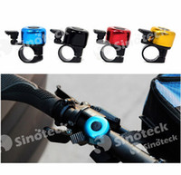 Wholesale Mini Fashion Cycling Aluminum Ring Alarm for Mountain Bike Cycling Riding Sport Bicycle Bell Horn Free DHL UPS Factory Dicrect